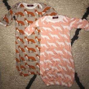 Milkbar nightgowns, 0-3 months